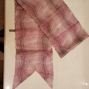 Ann Taylor silk scarf
